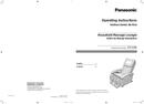 Panasonic EP1285TL page 1