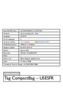 Philips SCD151/60 Black CompactBag SCD151/50 side 1