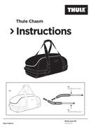Página 1 do Thule Chasm Large