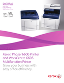 Xerox WorkCentre 6605DN страница 1