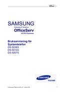 Samsung OfficeServ DS-5007S sivu 1