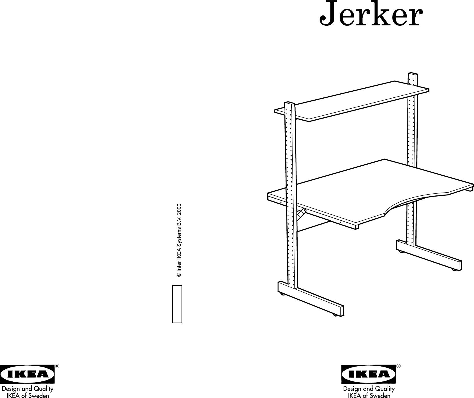 Ikea Jerker Manual