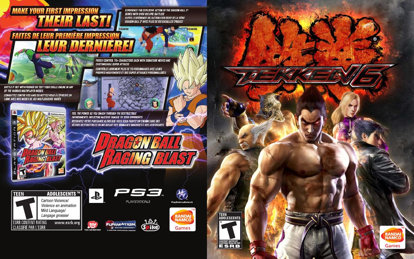 Sony Tekken 6 Playstation 3 Manual