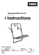 Pagina 1 del Thule BackPac Kit 15
