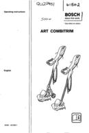 página del Bosch ART 23 Combitrim 1