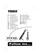 Página 1 do Thule 3rd Bike Adapter