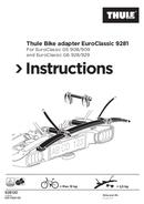 Página 1 do Thule EuroClassic G6 928-1