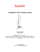 Sandisk ImageMate All-in-One pagina 1