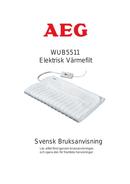 AEG WUB5511 page 1