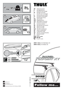 Pagina 1 del Thule Fit Kit 3028