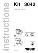 Thule Fit Kit 3042 pagină 1