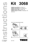 Pagina 1 del Thule Fit Kit 3080