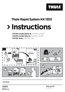 Pagina 1 del Thule Rapid System Kit 1353