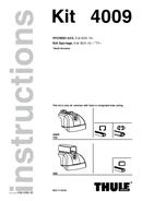 Página 1 do Thule Kit 4009