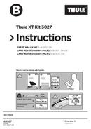 Pagina 1 del Thule  XT Kit 3027