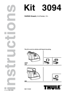 Página 1 do Thule Kit 3094