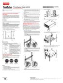 Lenovo ThinkStation Static Rack Rail Kit sivu 1