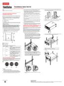 Lenovo ThinkStation Static Rack Rail Kit sivu 5