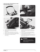 Pagina 3 del Thule Urban Glide 1 & 2 Car Seat Adapter
