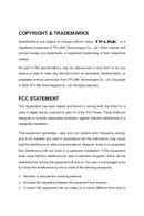 TP-Link TL-SL2218WEB side 2