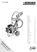 Página 1 do Kärcher G 4.10 M