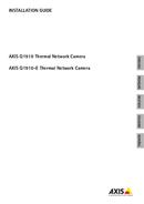 Axis Q1910 pagină 1