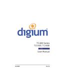 página del Digium TCE400B 1
