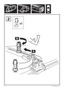 Pagina 4 del Thule SkiClick 7291 Ski Carrier