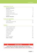 Página 3 do Magimix Le Duo Plus XL
