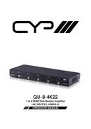 CYP QU-8-4K-22 pagina 1