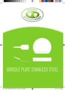 Página 1 do Outdoorchef Griddle Plate