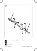 Página 2 do Thule T-track Adapter 889-2