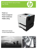 HP LaserJet Enterprise P3015DN side 1