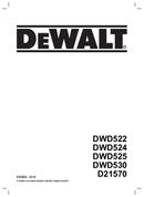 DeWalt DWD530 page 1