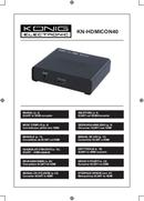 Konig KN-HDMICON40 side 1