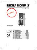 Metabo SPA 2002 D sayfa 1