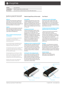 Mophie Juice Pack page 1