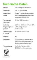 T-Mobile ZigBee-Funkstick 40291347 Seite 5