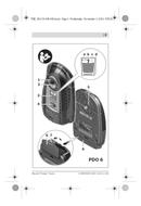 página del Bosch Detector PDO 6 2