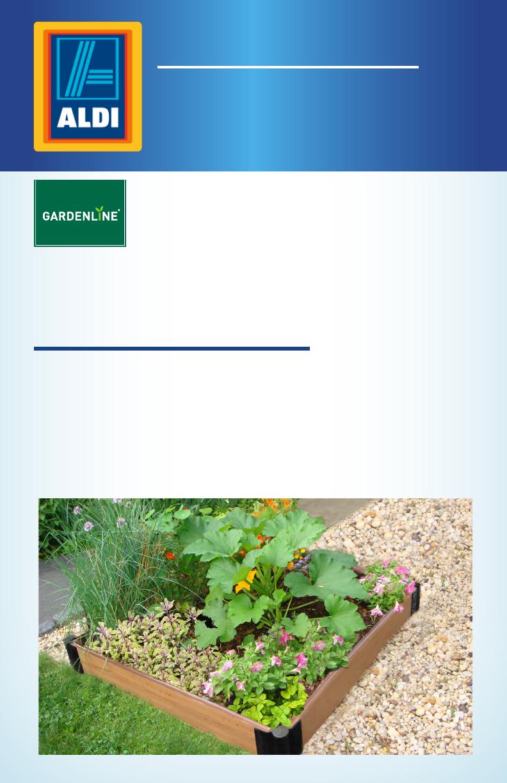 Picture of: Gardenline Raised Garden Bed Sbx Ald Manual