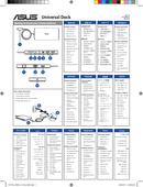 Asus Universal Dock sivu 1