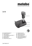 Metabo LC 40 sayfa 1