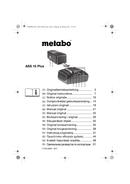 Metabo MAG 28 LTX 32 Seite 1