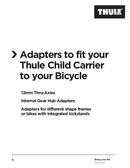 Pagina 1 del Thule Coaster XT