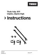 Thule ClipOn Adapter 9111 side 1
