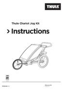 Página 1 do Thule Chariot Jog Kit