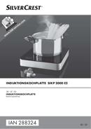Página 1 do SilverCrest SIKP 2000 E2