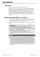 Página 5 do SilverCrest SIKP 2000 E2