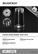 SilverCrest SKME 150 B1 sivu 1