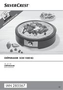 Página 1 do SilverCrest SCM 1500 B3